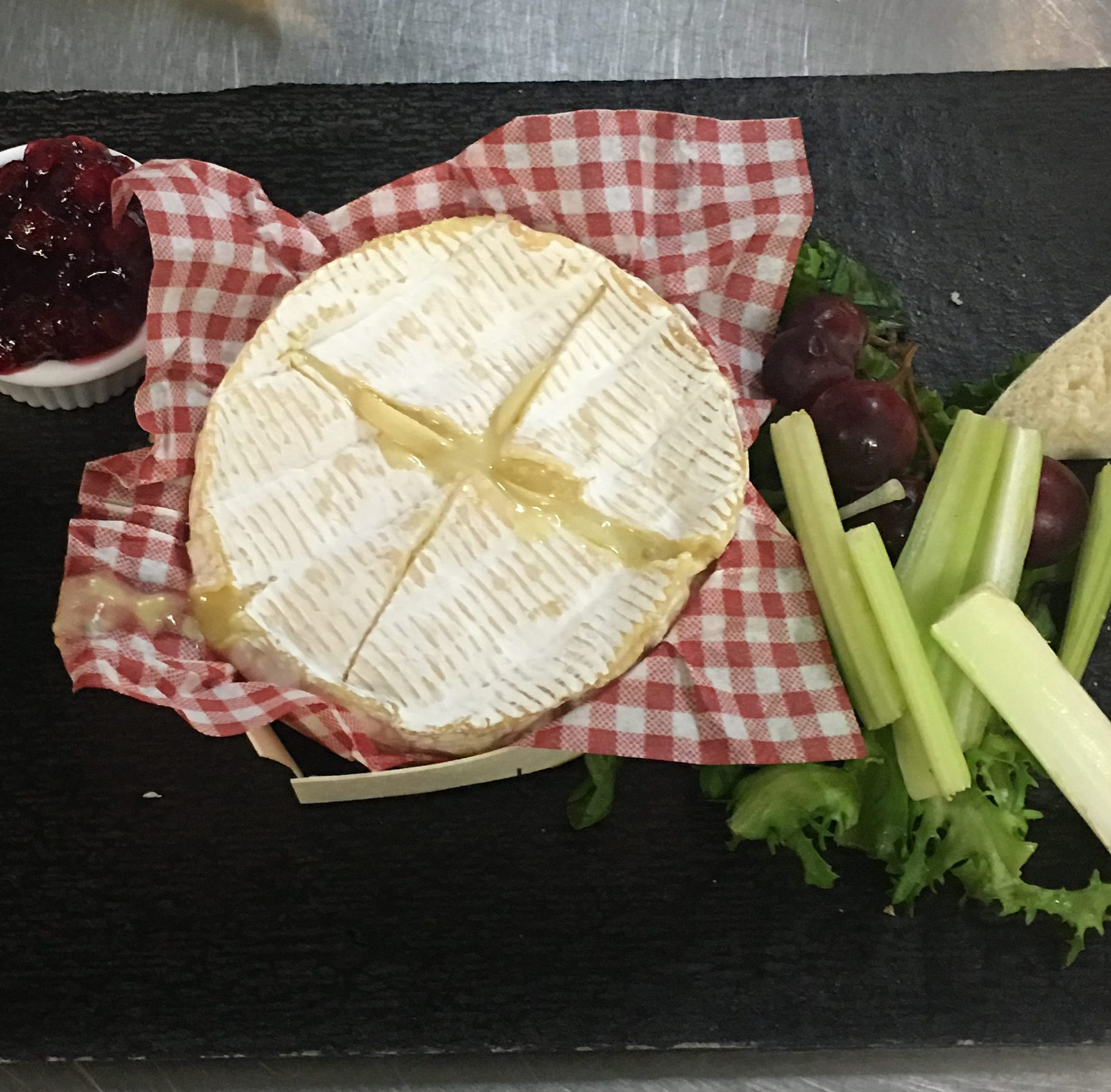 Baked Camembert Sharing Board